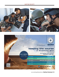 Maritime Logistics Professional Magazine, page 25,  Q2 2014