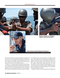 Maritime Logistics Professional Magazine, page 28,  Q2 2014