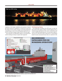 Maritime Logistics Professional Magazine, page 34,  Q2 2014 compressed gas vessels