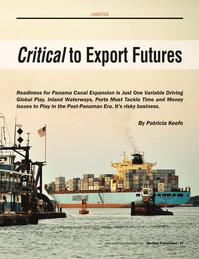 Maritime Logistics Professional Magazine, page 39,  Q2 2014