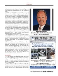 Maritime Logistics Professional Magazine, page 45,  Q2 2014