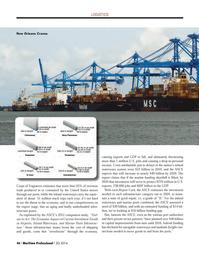 Maritime Logistics Professional Magazine, page 46,  Q2 2014