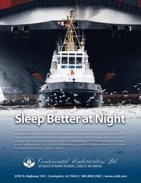 Maritime Logistics Professional Magazine, page 3,  Q2 2014
