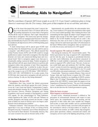 Maritime Logistics Professional Magazine, page 54,  Q2 2014