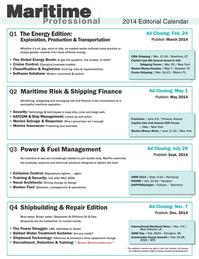 Maritime Logistics Professional Magazine, page 63,  Q2 2014