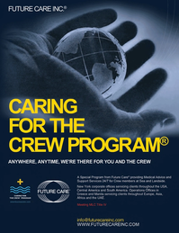Maritime Logistics Professional Magazine, page 4th Cover,  Q2 2014