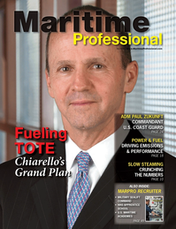 Maritime Logistics Professional Magazine Cover Q3 2014 - Power & Fuel Management