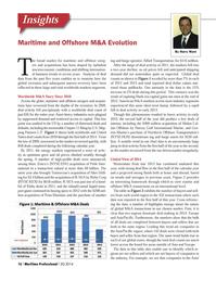 Maritime Logistics Professional Magazine, page 16,  Q3 2014