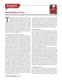 Maritime Logistics Professional Magazine, page 18,  Q3 2014