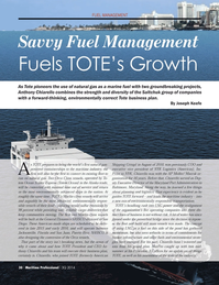 Maritime Logistics Professional Magazine, page 30,  Q3 2014