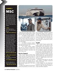 Maritime Logistics Professional Magazine, page 56,  Q3 2014