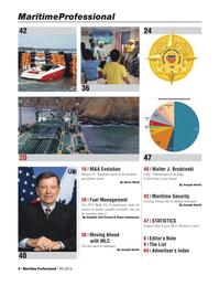Maritime Logistics Professional Magazine, page 4,  Q3 2014