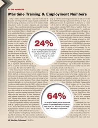 Maritime Logistics Professional Magazine, page 62,  Q3 2014
