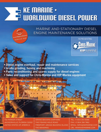 Maritime Logistics Professional Magazine, page 4th Cover,  Q3 2014