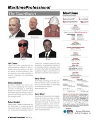 Maritime Logistics Professional Magazine, page 6,  Q3 2014