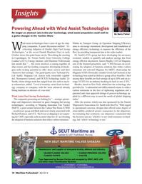 Maritime Logistics Professional Magazine, page 10,  Q4 2014