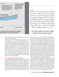 Maritime Logistics Professional Magazine, page 13,  Q4 2014