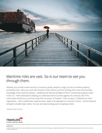 Maritime Logistics Professional Magazine, page 15,  Q4 2014