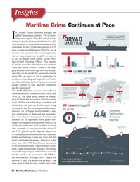 Maritime Logistics Professional Magazine, page 20,  Q4 2014