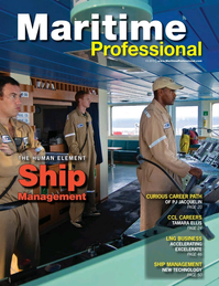 Maritime Logistics Professional Magazine Cover Q1 2015 - LNG Transport &