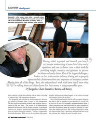 Maritime Logistics Professional Magazine, page 22,  Q1 2015