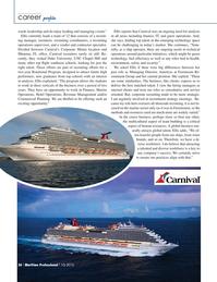 Maritime Logistics Professional Magazine, page 26,  Q1 2015