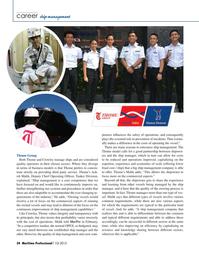 Maritime Logistics Professional Magazine, page 34,  Q1 2015