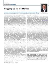 Maritime Logistics Professional Magazine, page 40,  Q1 2015