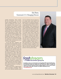 Maritime Logistics Professional Magazine, page 45,  Q1 2015