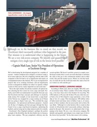 Maritime Logistics Professional Magazine, page 49,  Q1 2015