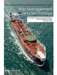 Maritime Logistics Professional Magazine, page 50,  Q1 2015