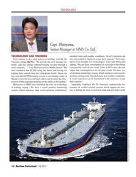 Maritime Logistics Professional Magazine, page 52,  Q1 2015