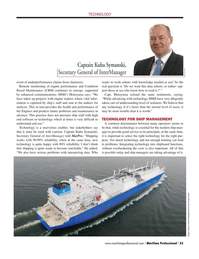 Maritime Logistics Professional Magazine, page 53,  Q1 2015