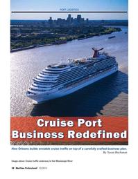 Maritime Logistics Professional Magazine, page 58,  Q1 2015