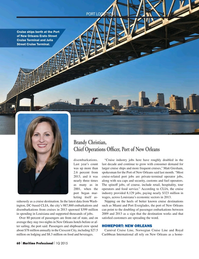 Maritime Logistics Professional Magazine, page 60,  Q1 2015