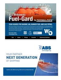 Maritime Logistics Professional Magazine, page 7,  Q1 2015