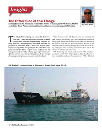 Maritime Logistics Professional Magazine, page 12,  Q2 2015