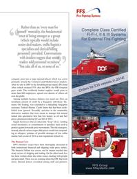 Maritime Logistics Professional Magazine, page 13,  Q2 2015