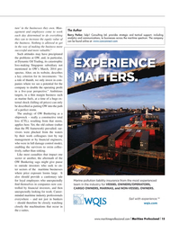 Maritime Logistics Professional Magazine, page 15,  Q2 2015