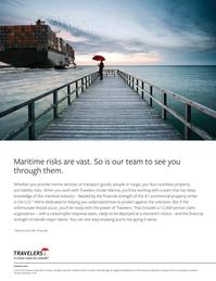 Maritime Logistics Professional Magazine, page 2nd Cover,  Q2 2015