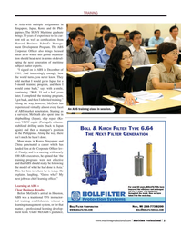 Maritime Logistics Professional Magazine, page 21,  Q2 2015