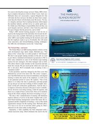 Maritime Logistics Professional Magazine, page 23,  Q2 2015