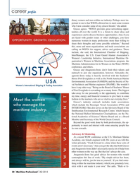Maritime Logistics Professional Magazine, page 30,  Q2 2015