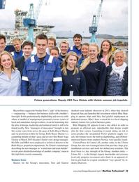 Maritime Logistics Professional Magazine, page 33,  Q2 2015