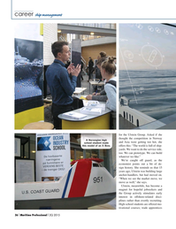 Maritime Logistics Professional Magazine, page 36,  Q2 2015