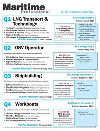 Maritime Logistics Professional Magazine, page 51,  Q2 2015