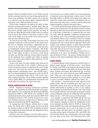 Maritime Logistics Professional Magazine, page 53,  Q2 2015