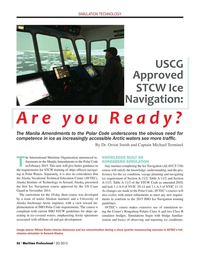 Maritime Logistics Professional Magazine, page 56,  Q2 2015