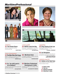 Maritime Logistics Professional Magazine, page 4,  Q2 2015