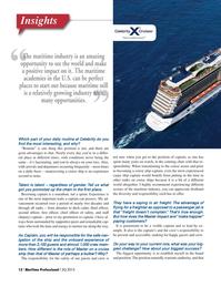 Maritime Logistics Professional Magazine, page 12,  Q3 2015
